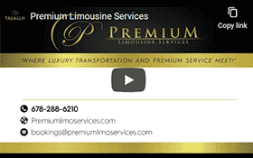 Premium Limousine Services -  Video